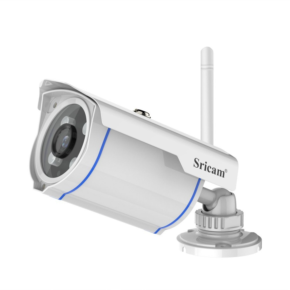 Sricam SP007 HD 720P Detection IR Cut Night Vision IP Camera WIFI 2.4 P2P Waterproof Outdoor Wireless IP Cam For Smartphone PC