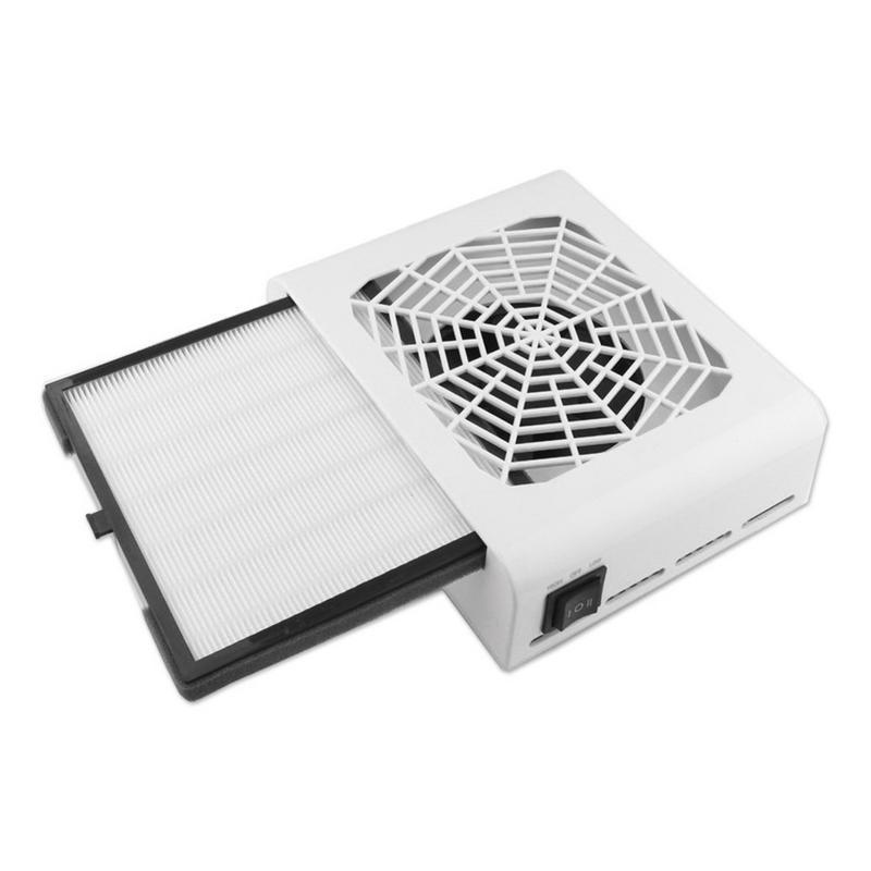 48 W nouvelle forte puissance ongles poussière collecteur ongles ventilateur Art Salon aspiration poussière collecteur Machine aspirateur ventilateur