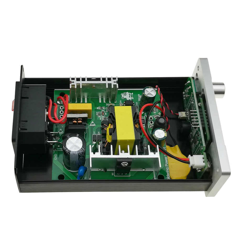 KSGER V2.01 STM32 OLED T12 Digitale Löten Station Temperatur Controller Löten Station Lötkolben Löten Werkzeug Neue