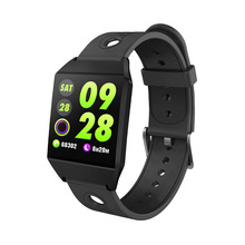 hot deal buy w1 color screen smart bracelet heart rate monitoring bluetooth step counter sports bracelet watch wristbands