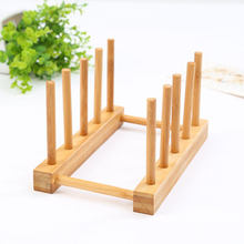 Layer Bamboo Dish Rack Drainboard Drying Drainer Storage Holder Stand Kitchen Cabinet Organizer for Dish/ Plate/ Bowl/ Cup(China)