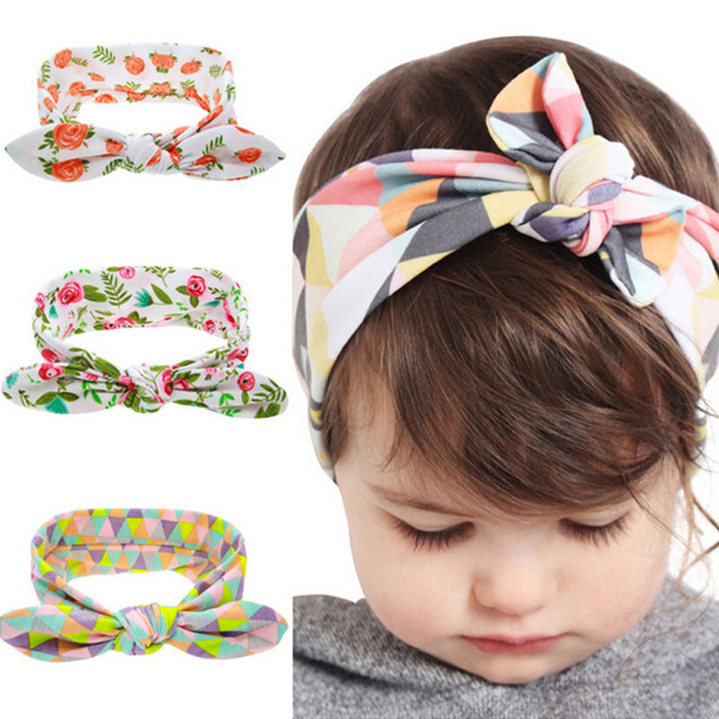 2019 Cute Kids Baby Girls Boys Headband Toddler Floral Bow Flower Hair Band Accessories Headwear Newborn Infant Fashion Headwear