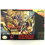 Dragon Quest 6 game cartridge with box image