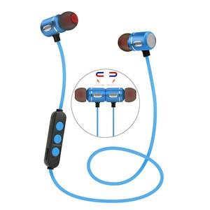 Image 3 - 2019 브랜드의 새로운 블루투스 4.1 헤드셋 무선 헤드 폰 액티브 소음 제거 이어폰 이어폰, 휴대 전화 용 ipod sport