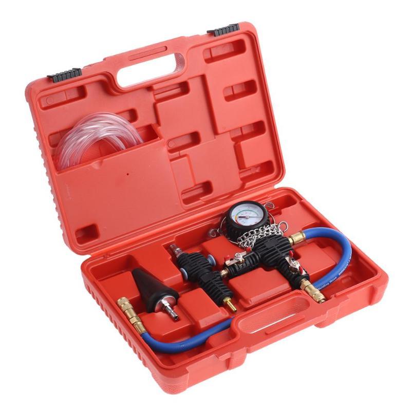 Profesional de refrigeración del radiador de vacío del sistema de purga de refrigerante recarga Kit de herramienta de SAuto sistema de refrigeración de refrigerante de purga