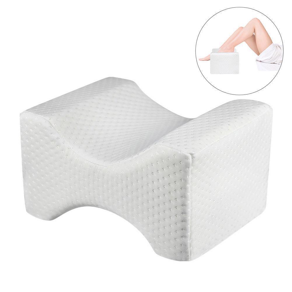 AsyPets Memory Foam Knee Leg Pillow Sleeping Support Between Side Sleepers Rest For Pregnancy