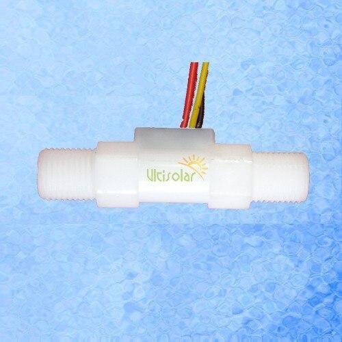24V USN HS41TA Hall Water Flow Sensor 0 25 3L Min BSP1 4 Threaded Ends Exclusive