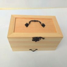 Needle Box Wooden Tool Storage Of Sewing And Thread, Accessories