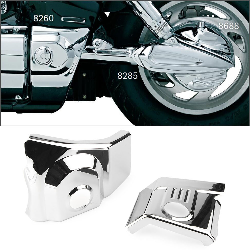 Swing Arm Pivot Frame Trim Cover Fit For Honda VTX 1300 2003 2009 Motorcycle ABS Plastic