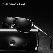 Square Men vintage Polarized Sunglasses Black/Brown Color UV400 Sun Glasses Luxury Brand Designer Driving Goggles