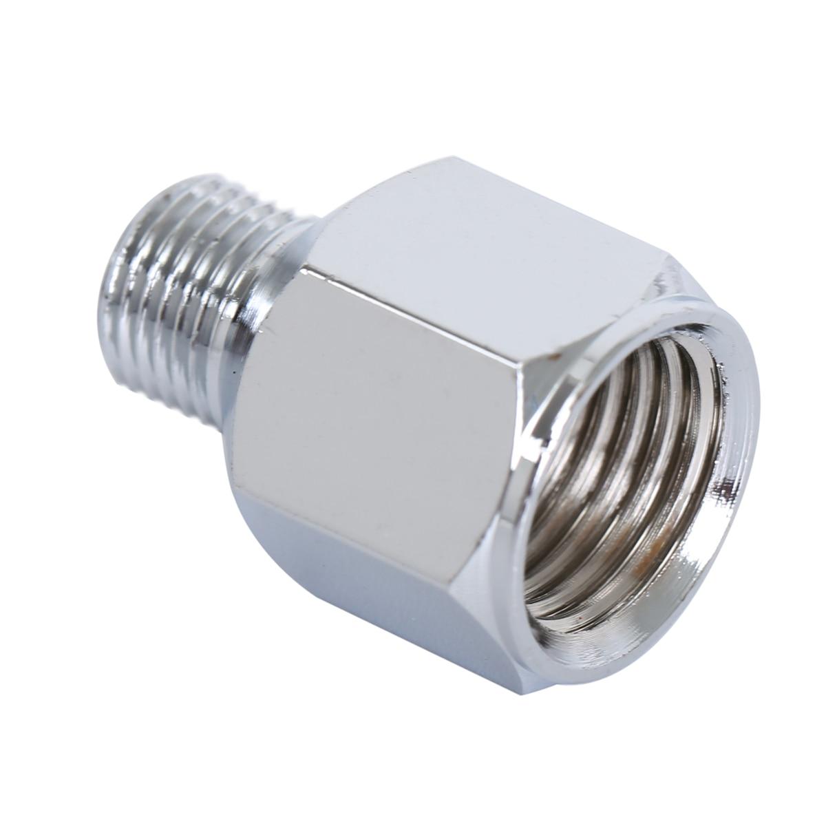 1x Mini Airbrush Air Hose Adapter Connector 1/4 BSP Female To 1/8 BSP Male Spray Gun Air Hose Quick Coupler Adaptor