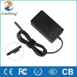 15V 4A 65W ładowania laptopa adapter ac dla microsoft surface Pro 4 Pro3 Tablet na powierzchnię laptopa A1706 z 5V 1A USB gniazdo zasilania