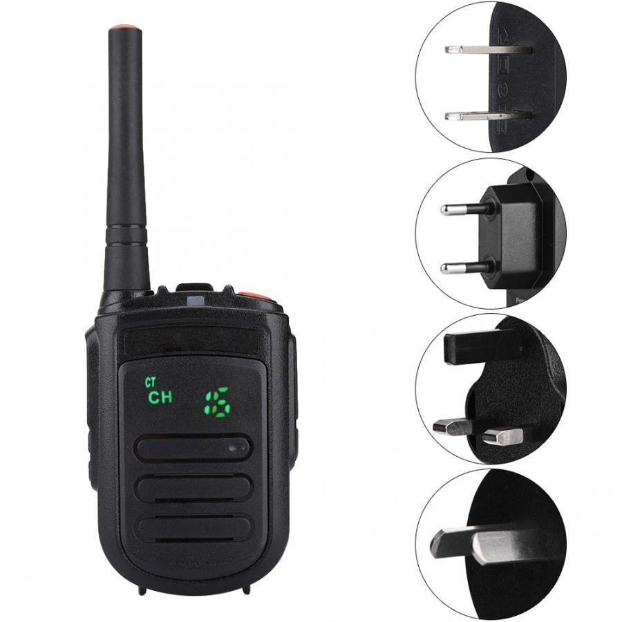 Talkie-walkie bidirectionnel tenu dans la main d'uhf de Radio portative de Mini9 avec la qualité