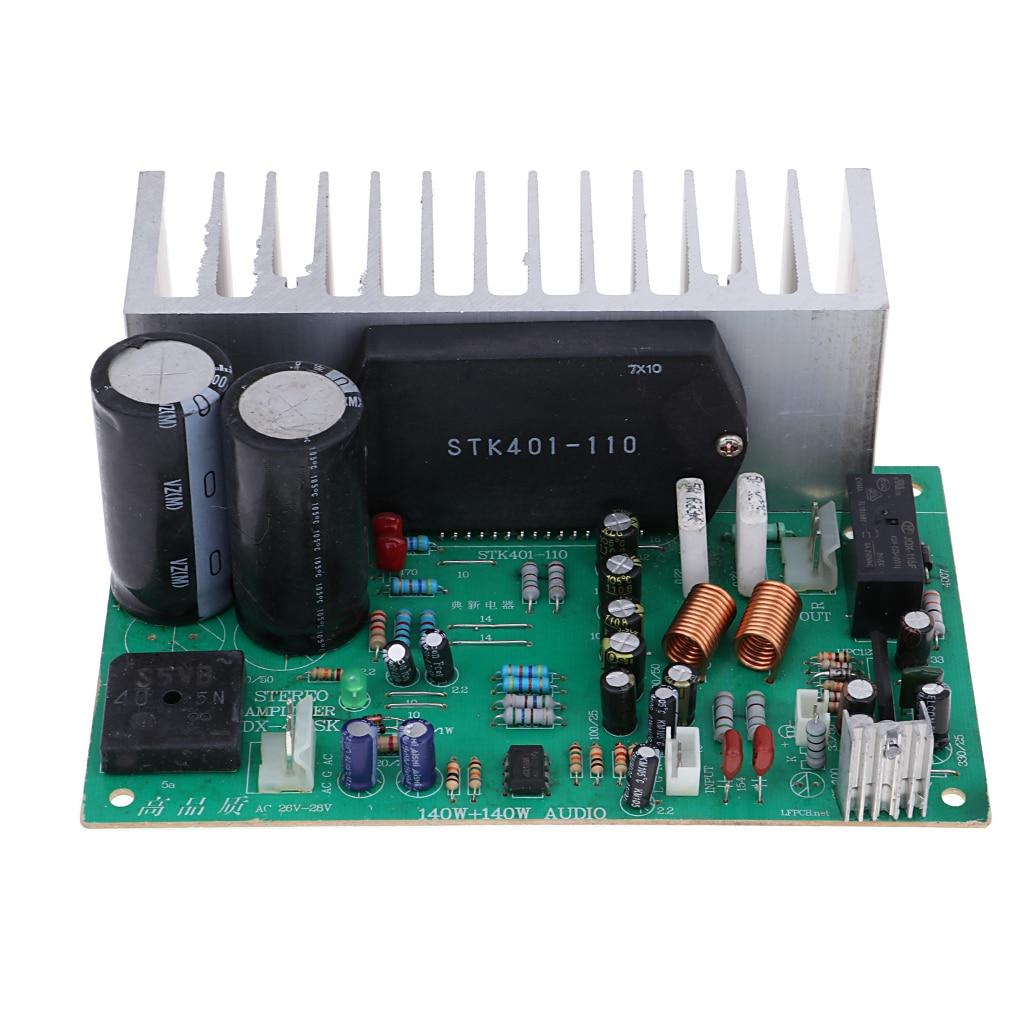 STK401 Subwoofer Digital Power Amplifier Board Audio Stereo Amp Module 140W stk401 090