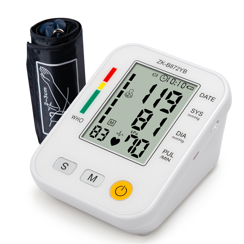 Household Arm Fully Automatic Precision Medicine Electronic Blood Pressure Monitor Jzk-B09