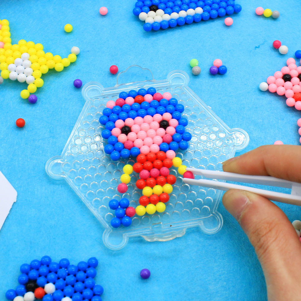 650pcs Water Beads Toys Children Mix Colors Perlen Magic 3D Puzzle Spray Hand Making DIY Educational Kids Set Kit Toys