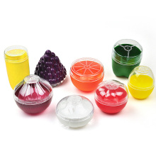 Милые кухонные контейнеры для овощей и фруктов, контейнер для еды, лук, лимон, помидоры, зеленый перец, пластиковый чехол для хранения свежих фруктов