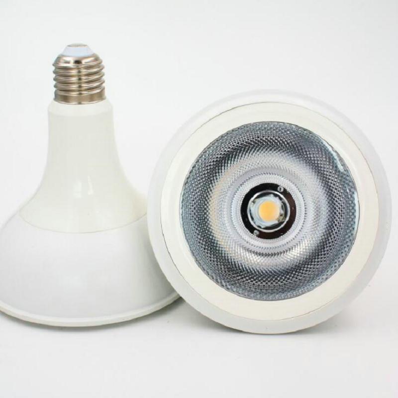 Dimmable COB LED bulb PAR38 AC110V 240V 10W 15W 20W E27 PAR38 COB LED bulb LED Spot Lamp light|LED Bulbs & Tubes| |  -