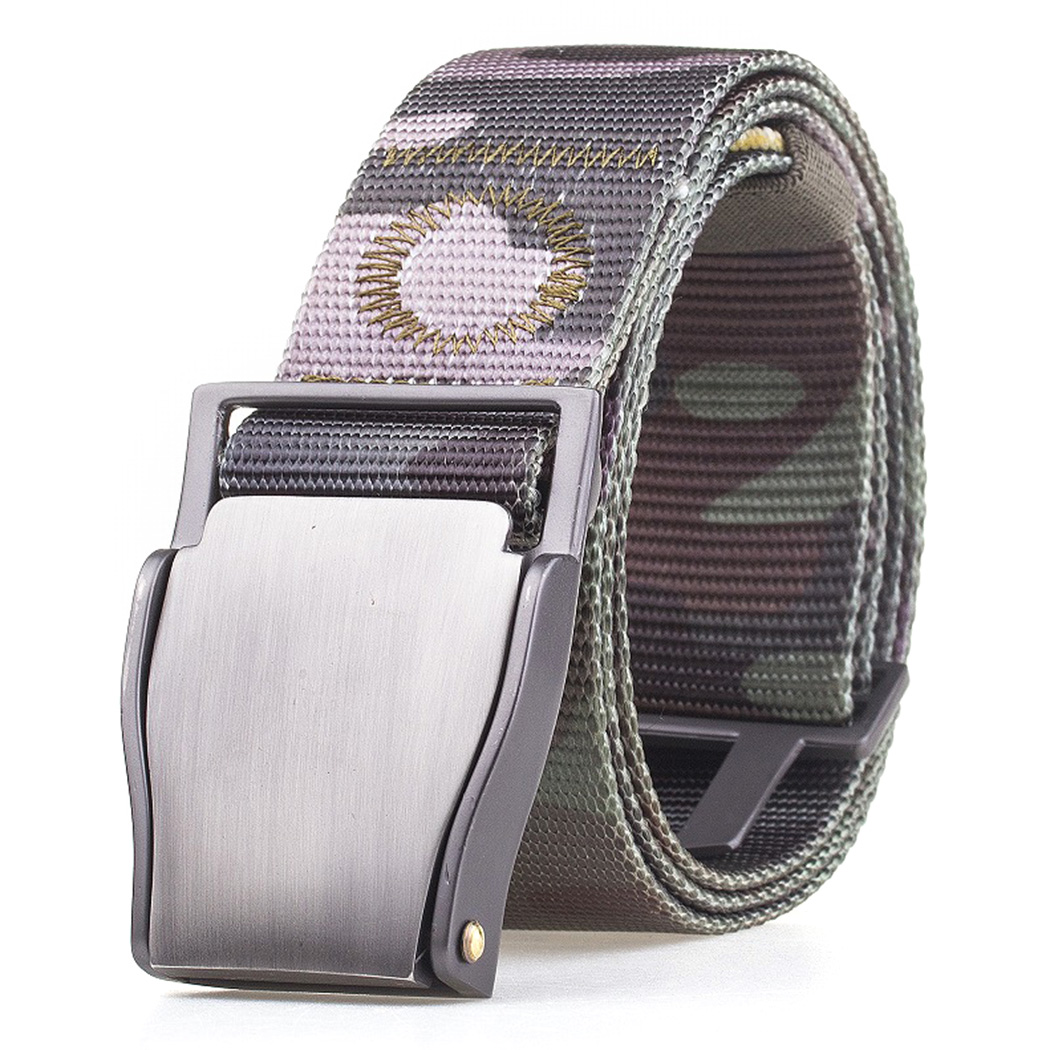Apparel Accessories 1pc Fashion Automatic Buckle Army Belts Strap 125cm Outdoor Military Tactical Belt Multicam Molle Alloy Buckle Nylon Waist Belts