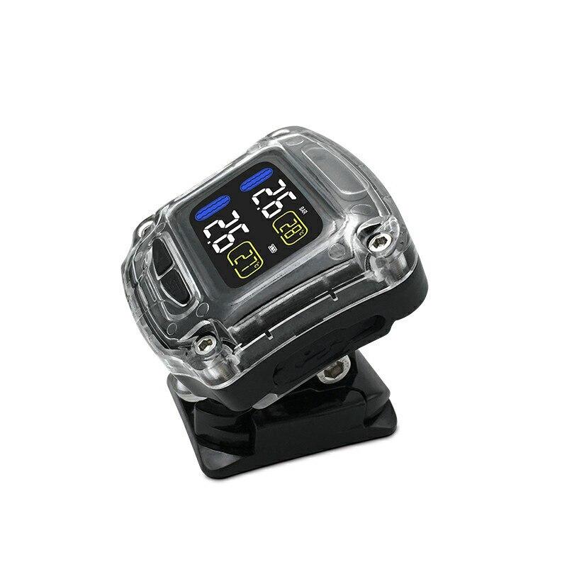 Careud Universal M3-B Wireless Waterproof Motorcycle Real Time Tpms 2 Externa Tire Pressure Monitoring System Sensor