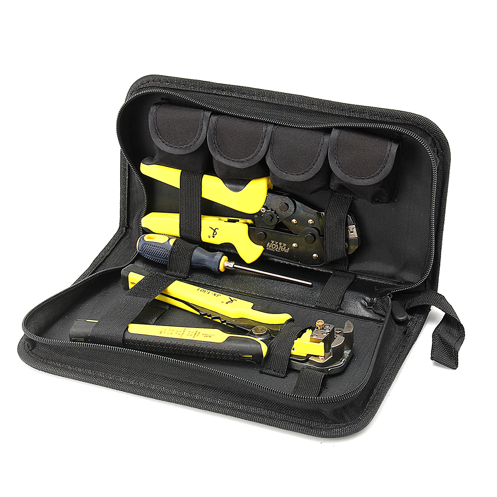 Meterk Multitool 4 In 1 Cord Wire Cutters Engineering Ratcheting Terminal Crimping Tool Bootlace Ferrule Wire