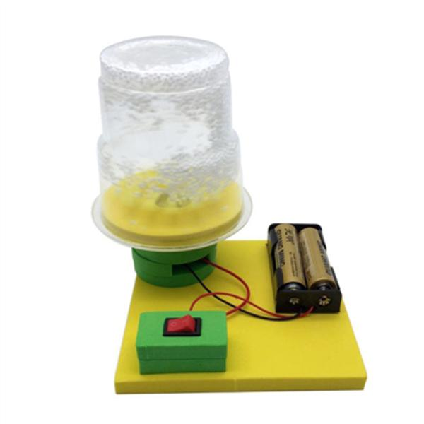 DIY Assembly Toy Kids Science Experiment Kits Electric Electrostatic Snow Educational Toys For Physics  Teaching