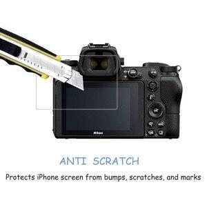 Image 4 - 2.5D 9H Vetro Temperato per Nikon COOLPIX Z7 Z6 Z50 P950 D6 D780 D7500 D7200 D7100 D850 D3500 Digitale della macchina fotografica Anti Graffi la Pellicola
