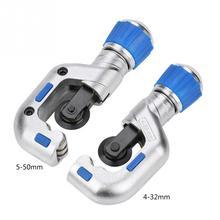 4 32mm/5 50mm צינור חותך כדור נושאות צינור חותך צינור חיתוך כלי עבור נחושת נירוסטה אלומיניום נחושת צינור יד כלים