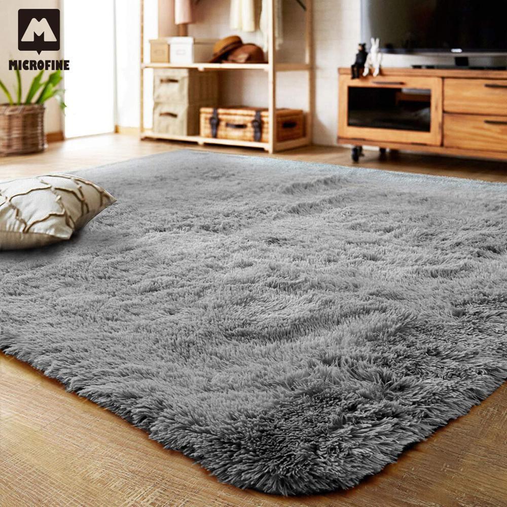 Fur Carpet For Living Room Floor Bathroom Hallway 3d Rugs ...