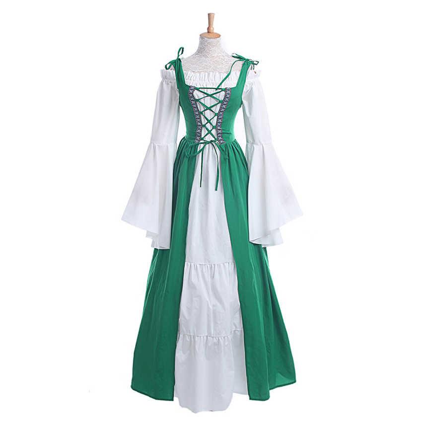 9db63e459 ... Palace Renaissance Victorian Princess Ball Gown Vestidos Palace Wedding  Party Wear Elegant Women Vintage Retro Medieval ...