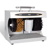 VidaXL elektryczne buty Cleaner polerka but skórzany automatyczna maszyna do czyszczenia zestaw czyszczenie butów zestaw szczotek do urządzenia w Akcesoria meblowe od Meble na