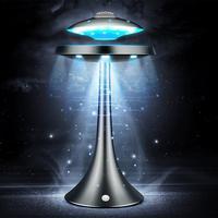 20 W НЛО беспроводной динамик Bluetooth HiFi Магнитная подвесной светодиодный светильник летающая тарелка Сабвуфер Bass Sound аудио видео плеер