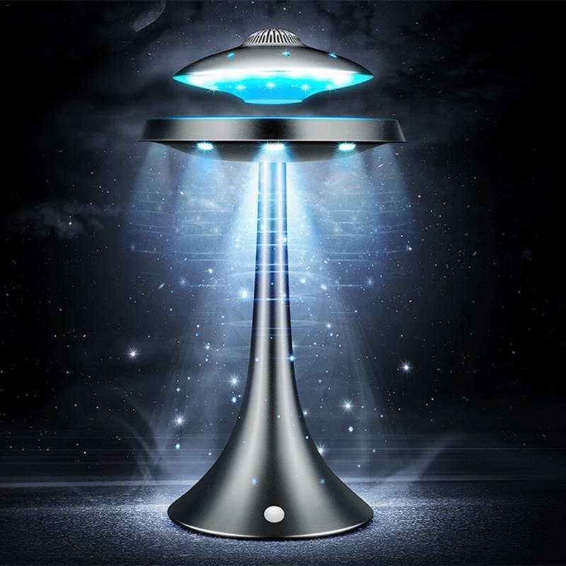 20 W UFO haut-parleur sans fil Bluetooth HiFi Magnétique Suspension lumière led Soucoupe Volante Subwoofer Bass Sound Audio lecteur vidéo