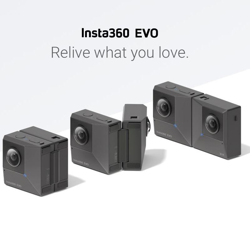 360°-video-kamera Begeistert Insta360 Evo 5,7 K Video Vr Panorama 360 Kamera Für Android Und Iphone Xs/xs Max/xr/ X/8/8 Plus/7/7 Plus/6 S/6 S Plus Um Jeden Preis