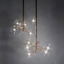 Nordic LED Chandelier Lighting Interior Decorative Loft Pendant Lamps Bedroom Living Room Restaurant Kitchen Fixtures Luminaire
