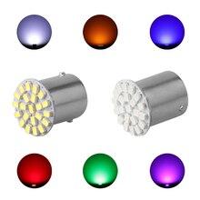 1156 22 SMD P21W BA15S светодиодный Лампа Авто Передние фары Тормозные огни включить свет парковка лампы накаливания Лидер продаж 12 V
