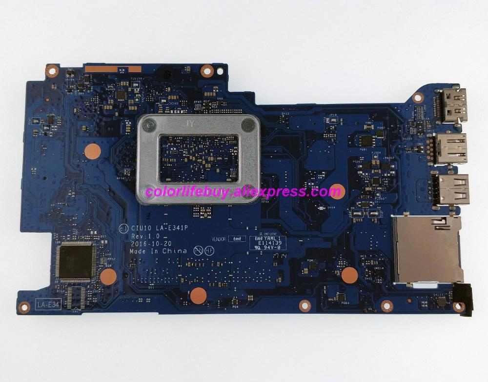 Image 2 - Genuine 906724 601 906724 001 CIU10 LA E341P UMA w PentN3710 CPU Laptop Motherboard for HP x360 Convertible 11 11 AB Series PC-in Laptop Motherboard from Computer & Office