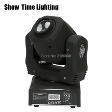 High Bright than 30W Mini 60W LED gobo Moving Head 8 kinds colors& images Spot Light DJ Party Disco wedding Moving heads Light цены онлайн