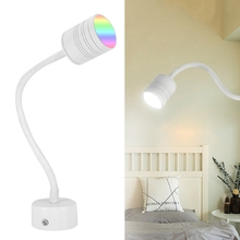 AC85-265V 9W Colorful Wifi Lamp RGB+CW Light with Gooseneck for Home Room Lighting