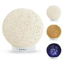 High Quality Hemp Ball Ultrasonic Aromatherapy Machine Humidifier Essential Oil Diffuser Instrument Rattan Aroma