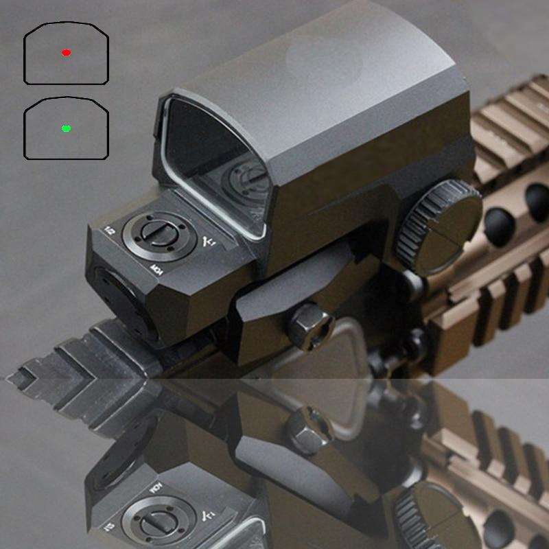 Fast Shipping LP LCO Red Dot Sight Rifle Scope Fit Any 20mm Rail Mount Hunting Scopes Reflex Sight 8 Illumination Settings Scope