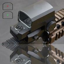 Livraison rapide LP LCO rouge point viseur portée de fusil pour tout 20mm montage sur Rail chasse portées Reflex vue 8 paramètres déclairage portée