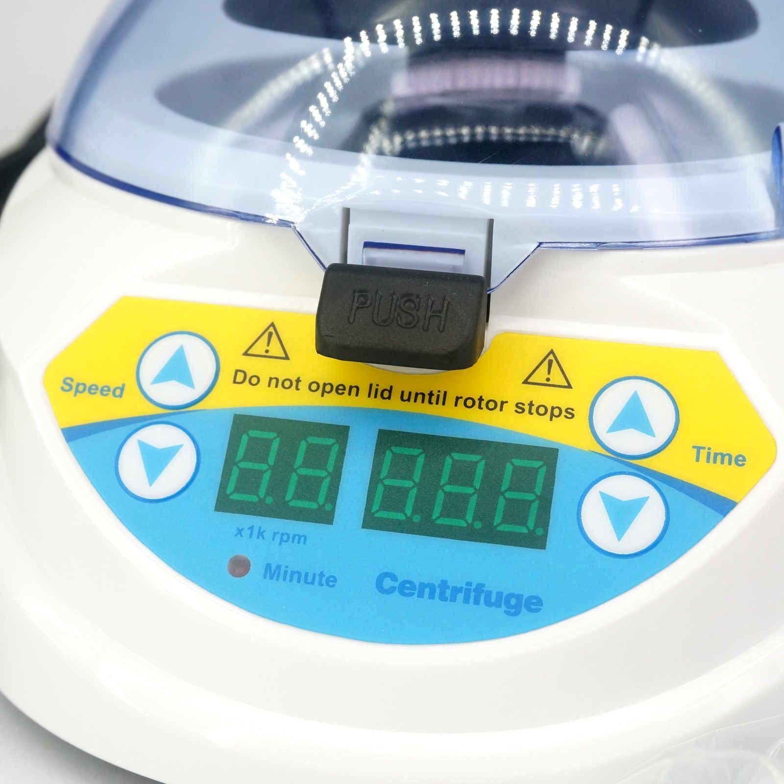 220VAC 3000 10000 RPM minuterie affichage numérique microcentrifugeuse Mini 10K + mini centrifugeuse 2.0/1.5/0.5/0.2 ml-in Centrifugeuse de laboratoire from Fournitures scolaires et de bureau    2