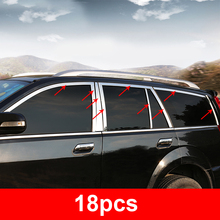 18pcs for haval H3 H5 2013-2018 CUV Window bar Stainless steel decorate