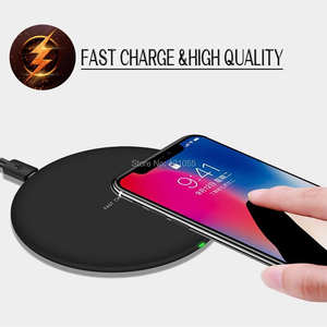 Wireless-Charger Phone Fast S8/note8 Qi 10W for 8/7-Plus Pad 500pcs/Lot