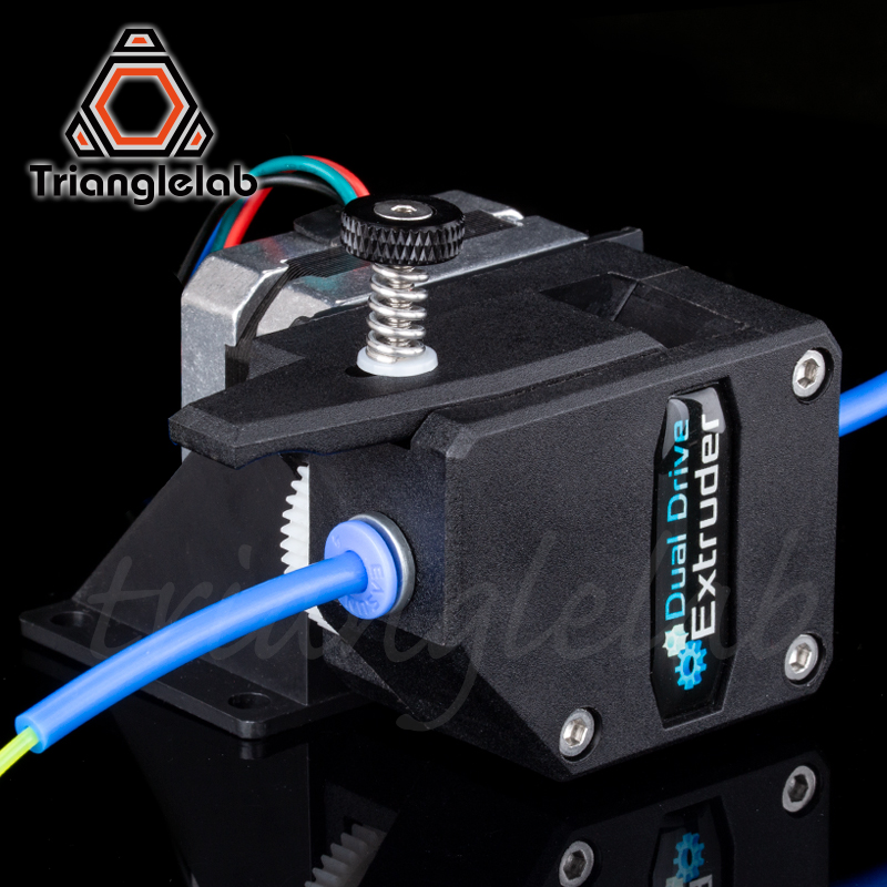 trianglelab Bowden Extruder BMG extruder Cloned Btech Dual Drive Extruder for 3d printer High performance for 3D printer MK8 in 3D Printer Parts Accessories from Computer Office
