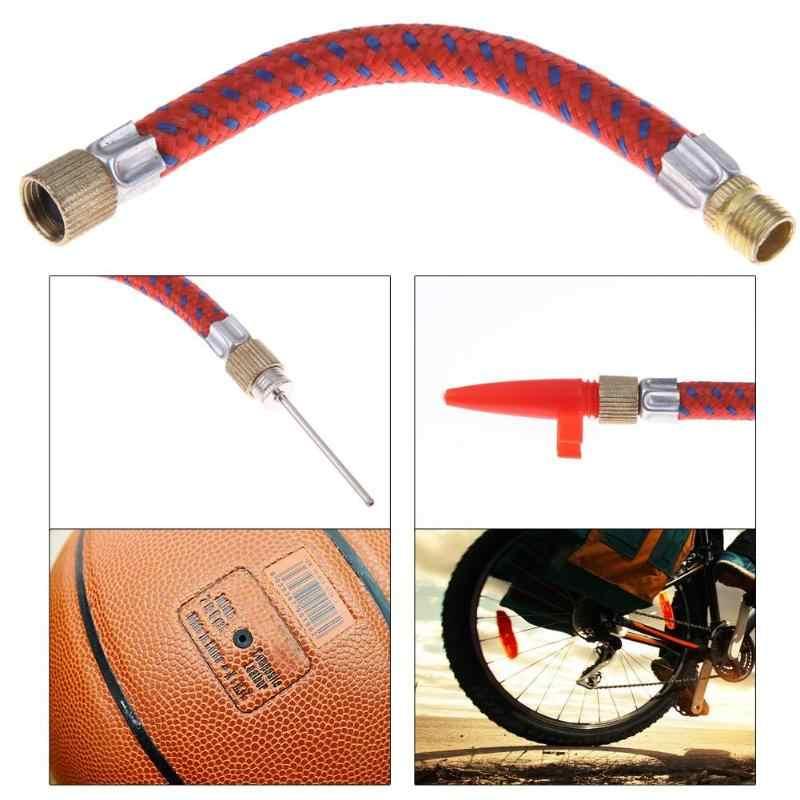 Ball Bikes Maintenance Bicycle Inflating Needles Hose Nozzle Tube Sport 7pcs set