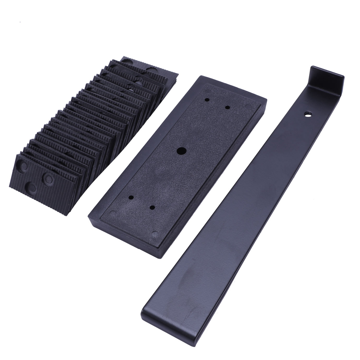 10-26 Laminate Flooring Installation Kit With Tapping Block Pull Bar And 30 Wedge Spacers Construction Tools