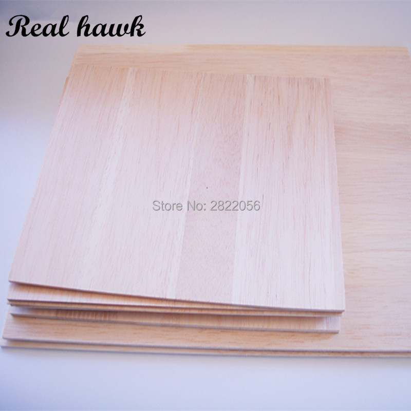 A3 Size 420x297mm Thickness 2/3/4/5/6/8mm AAA+ Balsa Wood Sheet PlyWood Puzzle Thickness Super Quality For Airplane/boat DIY