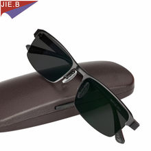 Titanium Alloy Sunglasses Transition Photochromic Reading Glasses for Men Hyperopia Presbyopia with diopters Presbyopia Glasses(China)